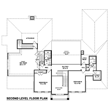 colonial style house plan 4 beds 4 00 baths 4360 sq ft plan 81 1595