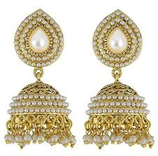 ear rings youbella jewellery gold plated jhumki earrings for women