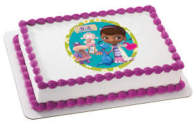 doc mcstuffins edible image edible cake images icing sheets photo cookies photo cupcakes