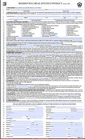 download illinois residential real estate contract for free tidyform