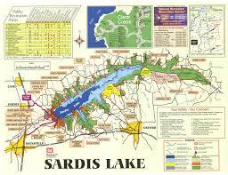 Green Ridge State Forest Camping Map by Vicksburg District U003e Missions U003e Recreation U003e Sardis Lake U003e Sardis