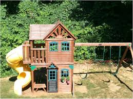 backyard discovery playsets providence wooden swing set amys
