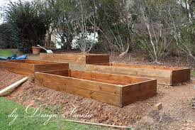 Building A Raised Vegetable Garden by Diy Design Fanatic Raised Beds