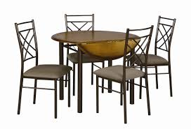 essential home santiago 5 pc drop leaf dining set home