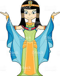 cleopatra clipart pencil and in color cleopatra clipart
