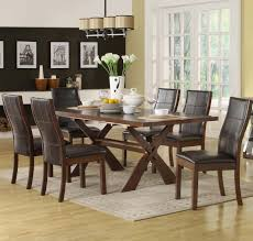 dark wood dining room tables decor amazing costco dining room sets with charming patterns for