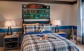 Cool Bedrooms Ideas 15 Sports Inspired Bedroom Ideas For Boys Rilane
