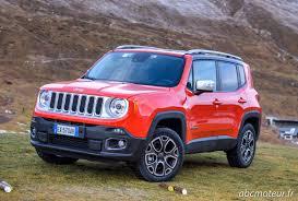 orange jeep renegade essai jeep renegade 2 0 multijet 140 4x4 bvm6 u0026 bva9