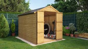 garden sheds project timber