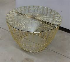 Wire Coffee Table Rustic Iron Wire Coffee Table Just The Thing Furniture