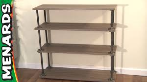 industrial shelf menards youtube