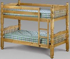 Julian Bowen Chunky Pine Bunk Bed Chunky Pine - Pine bunk bed