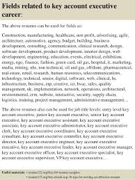 Executive Resumes Samples Free by Top 8 Key Account Executive Resume Samples