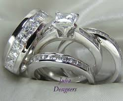 his and wedding ring set wedding rings unique matching wedding bands his and hers white