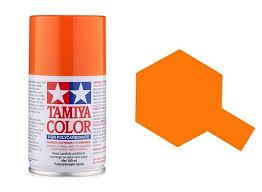 tamiya spray paint ps 62 pure orange acrylic paints 100ml