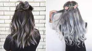 black grey hair the gray hair trend 32 instagram worthy gray ombré hairstyles