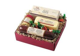 Sausage And Cheese Gift Baskets Christmas Gift Ideas For Foodies Unusual Gifts