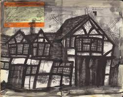 tudor house daniel worth art tudor house