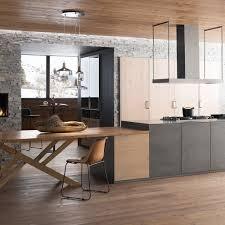 cuisine blanche et grise davaus net u003d cuisine blanche grise et bois avec des idées