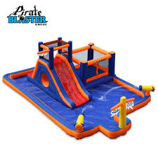 pirates blaster inflatable play park by blast zone residential