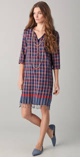 scotch u0026 soda maison scotch plaid dress with necklace shopbop