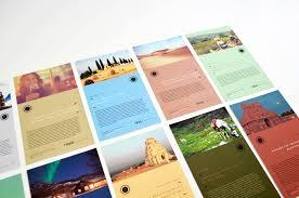 astray travel co brochure design on behance