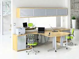 Office   Furniture The Perfect Choice With Long Computer Desk - Home office network design