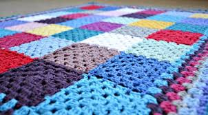 free pattern granny square afghan free granny square baby blanket patterns craftsy
