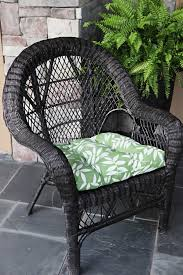 White Wicker Armchair Slicker Wicker Bower Power