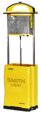 battery powered work lights smithlight in120lb battery operated led work light 2 sided 17ah
