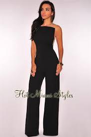 black mesh jumpsuit mesh sides wide leg jumpsuit