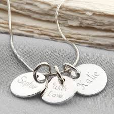 sted necklaces silver disk necklace uk best necklace 2017