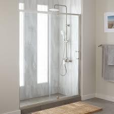 60 Shower Doors 60 Osborne Adjustable Pivot Shower Door Bathroom