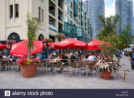 watermark irish pub bar and restaurant patio area on the