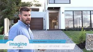 the hurst kit home design by imagine kit homes youtube