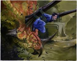 i grew up next to a magic the gathering artist one of my most