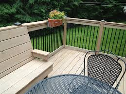 decor u0026 tips porch ideas with outdoor wood deck and wrought iron