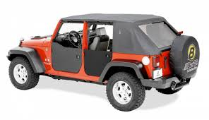 black jeep wrangler unlimited bestop rear half doors for 07 11 jeep wrangler unlimited jk black