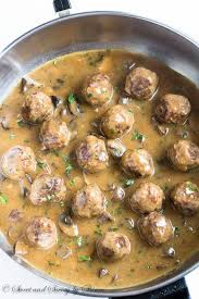 porcini mushroom gravy recipe serious beef meatballs in mushroom gravy sweet u0026 savory by shinee
