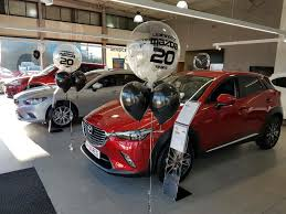 mazda corporate personalised balloons personalised banners one stop party shop