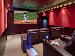 Home Theatre Decorations by Beautiful Home Theater Design Ideas Contemporary Decorating