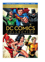 amazon com dc comics collection 6 graphic novels 6 animated