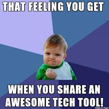 Tech Meme - creating and using meme images in the classroom emerging