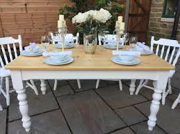 Pine Dining Room Tables by Victorian Solid Pine Farmhouse Dining Table Antiques Atlas Solid