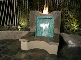 outdoor wall water fountain outdoor designs
