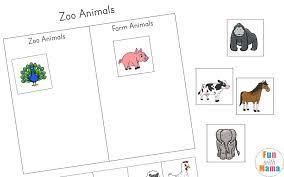 printable animal activities zoo animal activities for preschoolers kindergarteners fun with mama