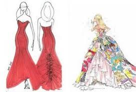 how to design fashion sketches home