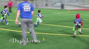 Flag Football Equipment Dash Jones 1st Flag Football Game Youtube