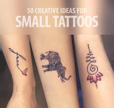 50 creative tattoo ideas for small tattoos by aliens tattoo