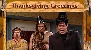 thanksgiving greetings from tonto and frankenstein